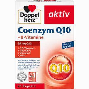 Abbildung von Doppelherz Coenzym Q10 + B- Vitamine Kapseln 30 Stück