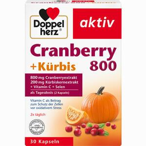 Abbildung von Doppelherz Cranberry + Kürbis Kapseln 30 Stück