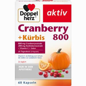 Abbildung von Doppelherz Cranberry + Kürbis Kapseln 60 Stück