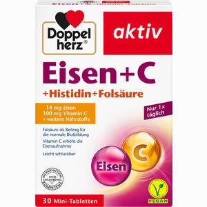 Abbildung von Doppelherz Eisen+vitamin C+l- H Tabletten 30 Stück