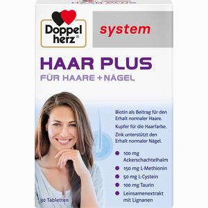 Abbildung von Doppelherz Haar Plus System Tabletten 30 Stück