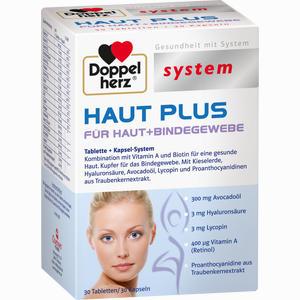 Abbildung von Doppelherz Haut Plus System Kombipackung 60 Stück