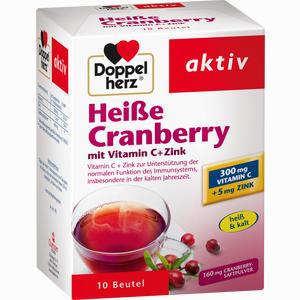 Abbildung von Doppelherz Heiße Cranberry mit Vitamin C + Zink Granulat 10 Stück