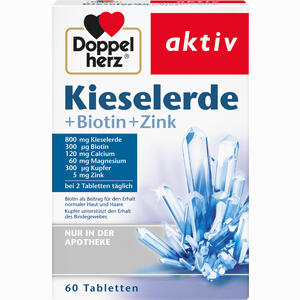Abbildung von Doppelherz Kieselerde + Biotin Tabletten  60 Stück