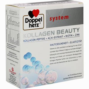 Abbildung von Doppelherz Kollagen Beauty System Trinkampullen 10 Stück