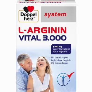Abbildung von Doppelherz L- Arginin Vital 3000 System Kapseln 120 Stück