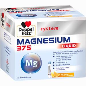 Abbildung von Doppelherz Magnesium 375 Liquid System Trinkampullen 30 Stück