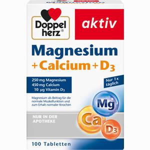 Abbildung von Doppelherz Magnesium + Calcium + D3 Tabletten 100 Stück