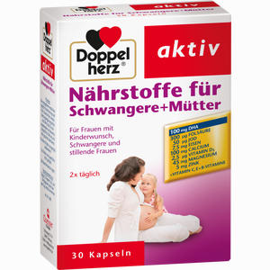 Abbildung von Doppelherz Nährstoffe für Schwangere+mütter Kapseln 30 Stück