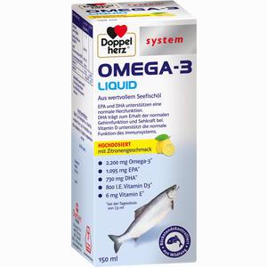 Abbildung von Doppelherz Omega- 3 Liquid System Fluid 150 ml