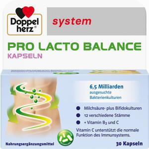 Abbildung von Doppelherz Pro Lacto Balance System Kapseln 30 Stück