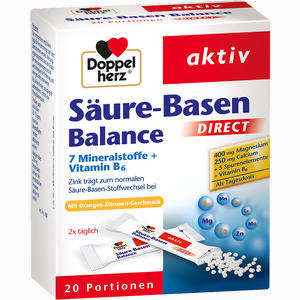 Abbildung von Doppelherz Säure- Basen Balance Direct Pellets 20 Stück