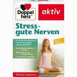 Abbildung von Doppelherz Stress - Gute Nerven Tabletten 30 Stück
