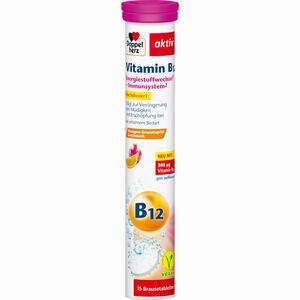 Abbildung von Doppelherz Vitamin B12 Brausetabletten 15 Stück