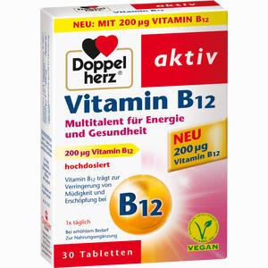 Abbildung von Doppelherz Vitamin B12 Tabletten 30 Stück