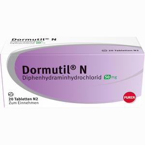 Abbildung von Dormutil N Tabletten 20 Stück