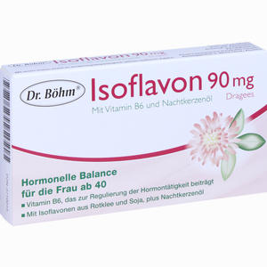 Abbildung von Dr. Böhm Isoflavon 90mg Dragees  30 Stück