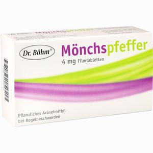 Abbildung von Dr. Böhm Mönchspfeffer 4mg Filmtabletten 60 Stück
