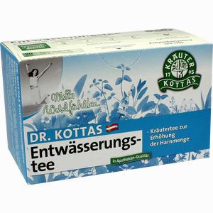 Abbildung von Dr. Kottas Entwässerungstee Filterbeutel  20 Stück