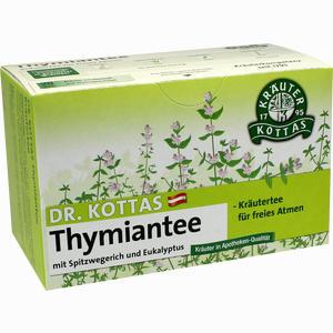 Abbildung von Dr. Kottas Thymiantee mit Spitzwegerich und Eukalyptus Filterbeutel 20 Stück