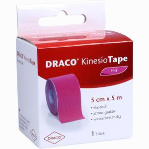 Abbildung von Draco Kinesiotape 5mx5cm Pink Verband 1 Stück