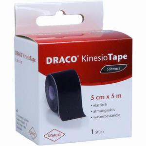Abbildung von Draco Kinesiotape 5mx5cm Schwarz Verband 1 Stück