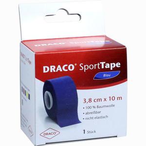Abbildung von Draco Sporttape 10mx3.8cm Blau Verband 1 Stück