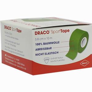 Abbildung von Draco Sporttape 10mx3.8cm Grün Verband 1 Stück