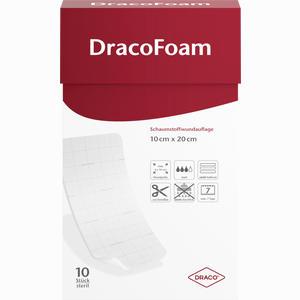 Abbildung von Dracofoam Schaumstoffwundauflage 10x20cm Verband 10 Stück