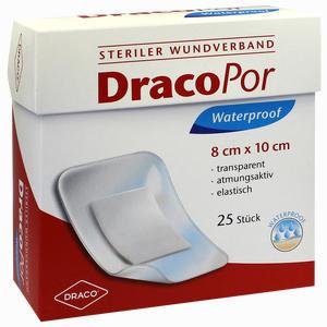 Abbildung von Dracopor Waterproof Wundverband Steril 8cmx10cm  25 Stück