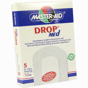 Abbildung von Drop Med 5x7cm Verband 5 Stück