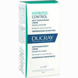 Abbildung von Ducray Hidrosis Control Hand- und Fußcreme  50 ml