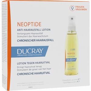Abbildung von Ducray Neoptide Anlagebedingter Haarausfall Tinktur 3 x 30 ml