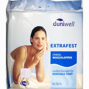 Abbildung von Duniwell Einmal Waschlappen 30 Stück