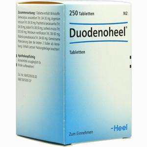 Abbildung von Duodenoheel Tabletten  250 Stück