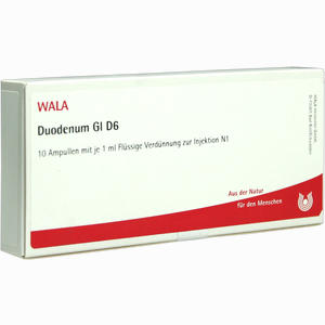 Abbildung von Duodenum Gl D6 Ampullen 10 x 1 ml