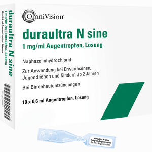 Abbildung von Duraultra N Sine Augentropfen  10 x 0.6 ml
