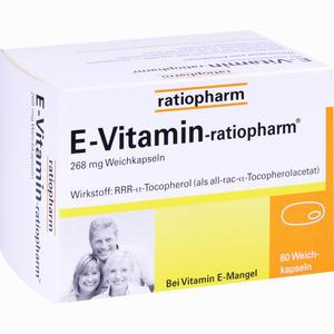 Abbildung von E- Vitamin- Ratiopharm Kapseln 60 Stück