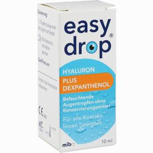 Abbildung von Easydrop Hyaluron Plus Dexpanthenol Augentropfen 10 ml