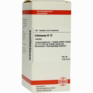 Abbildung von Echinacea D12 Tabletten  200 Stück