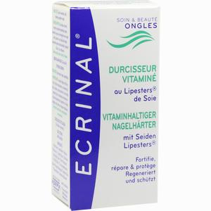Abbildung von Ecrinal Nagelhärter mit Seiden- Lipesters 10 ml