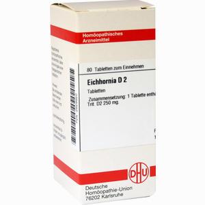 Abbildung von Eichhornia D2 Tabletten 80 Stück