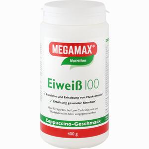 Abbildung von Eiweiss 100 Cappuccino Megamax Pulver 400 g