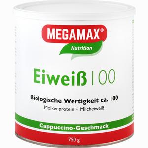 Abbildung von Eiweiss 100 Cappuccino Megamax Pulver 750 g