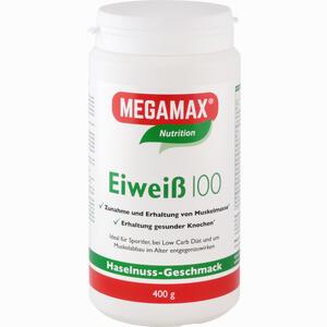 Abbildung von Eiweiss 100 Haselnuss Megamax Pulver 400 g