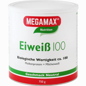 Abbildung von Eiweiss 100 Neutral Megamax Pulver 750 g