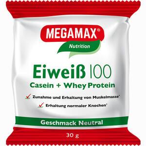 Abbildung von Eiweiss 100 Neutral Megamax Pulver 30 g