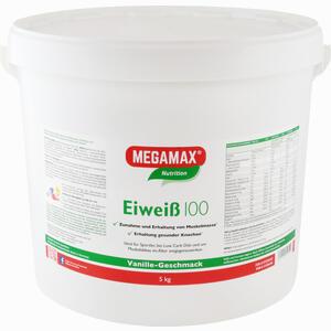 Abbildung von Eiweiss 100 Vanille Mega 5000 g