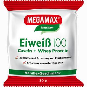 Abbildung von Eiweiss 100 Vanille Megamax Pulver 30 g