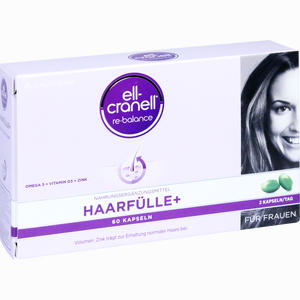 Abbildung von Ell- Cranell Haarfülle+ für Frauen Kapseln 60 Stück